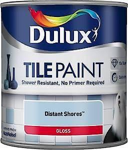 Du Tile Paint Pure Brilliant White 600Ml