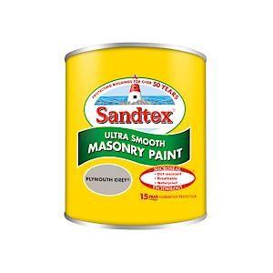 Sandtex Mason Plymth Grey 150Ml