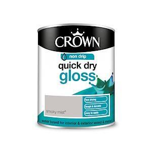 Crown Quick Dry Gloss Smoky Mist 750Ml