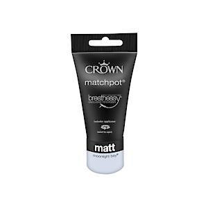 Crown Breatheasy Matt Emulsion - 40Ml - Moonlight Bay
