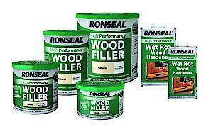 Ronseal H/Perf Wood Filler White 550Gm