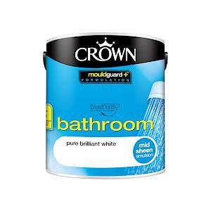 Crown B/E Bath Sheen Pure Brilliant White 2.5L
