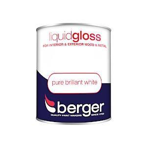 Berger Liquid Gloss Pure Brilliant White 750