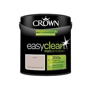 Crown Easyclean Matt Emulsion Hare 2.5Litre