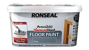 Perfect Finish Diamond Hard Floor Paint White 2.5L