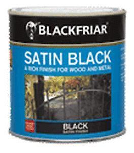 B/F Satin Black Paint - 250Ml