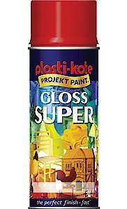 GLOSS SUPER BRIGHT RED 400ML*