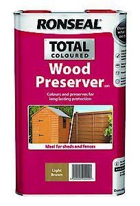 Ronseal Total Wood Pres Brown 2.5L