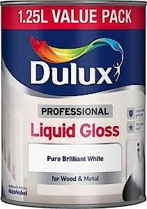 DX LIQUID GLOSS Pure Brilliant White        1.25L