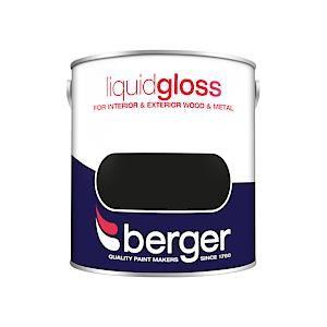 Berger Liquid Gloss - 2.5L - Black