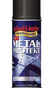 METAL PROTEKT MATT BLACK 400ML*