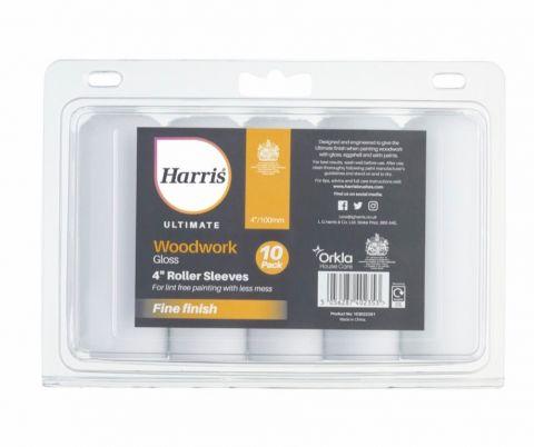Harris Ultimate Woodwork Gloss Sleeve 4 10 Pack