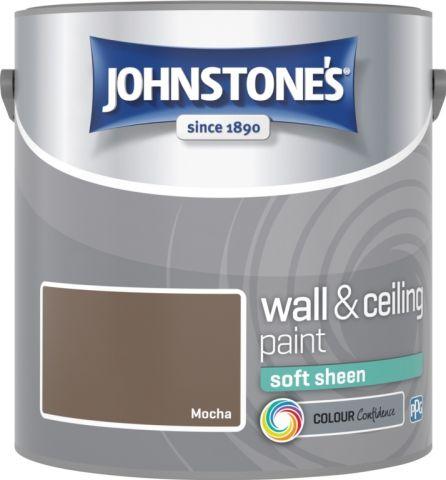 Johnstone's Wall & Ceiling Soft Sheen 2.5L Mocha