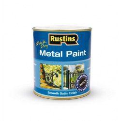 Rustins Metal Paint 250ml Black