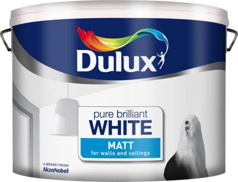 Dulux Matt 10L Pure Brilliant White