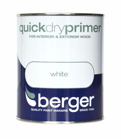 Berger Quick Dry Primer 750ml White