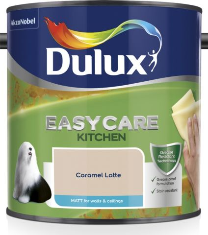 Dulux Easycare Kitchen Matt 2.5L Caramel Latte