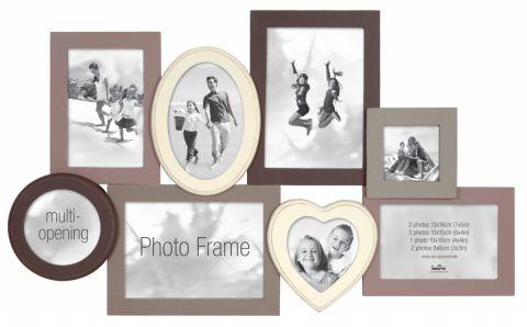 Innova Madeira 111 8 Aperture Photo Frame