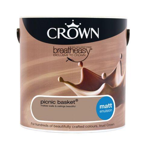 Crown Matt Emulsion 2.5L Picnic Basket