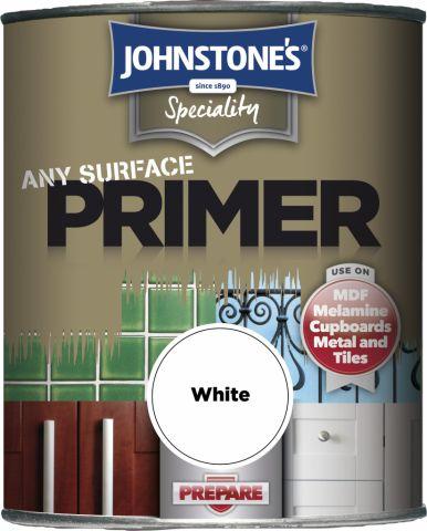 Johnstone's Any Surface Primer 250Ml White