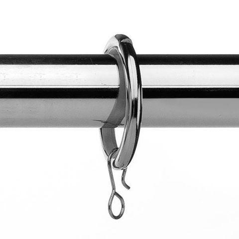 Universal Metal Rings Chrome 28Mm