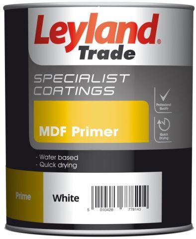 Leyland Trade Mdf Primer 750Ml White