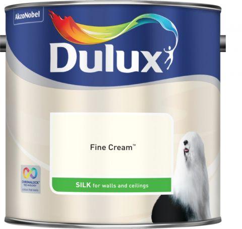 Dulux Silk 2.5L Fine Cream