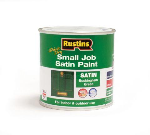 Rustins Qd Small Job Satin 250Ml Buckingham Green