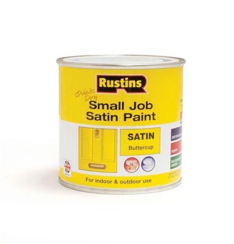 Rustins Qd Small Job Satin 250Ml Buttercup