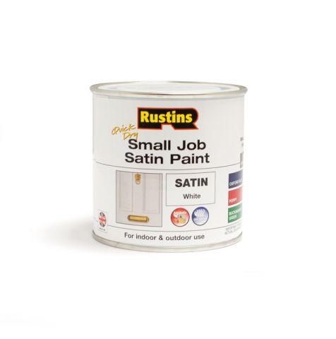 Rustins Qd Small Job Satin 250Ml White