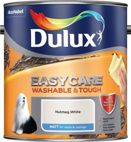 Dulux Easycare Matt 2.5L Nutmeg White