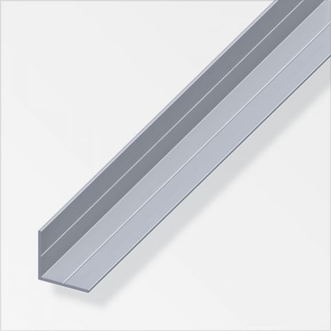 Alfer Angle Raw Aluminium 11.5Mm X 11.5Mm X 2.5M