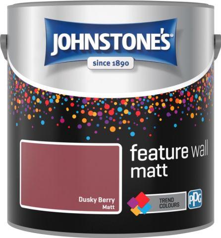 Johnstone's Feature Wall Matt 2.5L Dusky Berry
