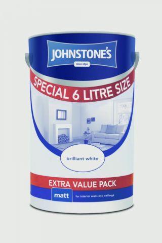 Johnstone's Wall & Ceiling Matt 6L Magnolia