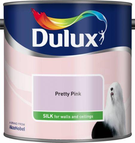 Dulux Silk 2.5L Pretty Pink