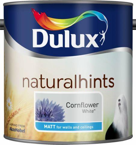 Dulux Natural Hints Matt 2.5L Cornflower White