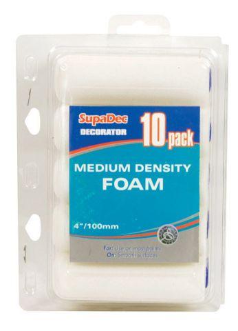 SupaDec Foam Mini Roller Pack of 10