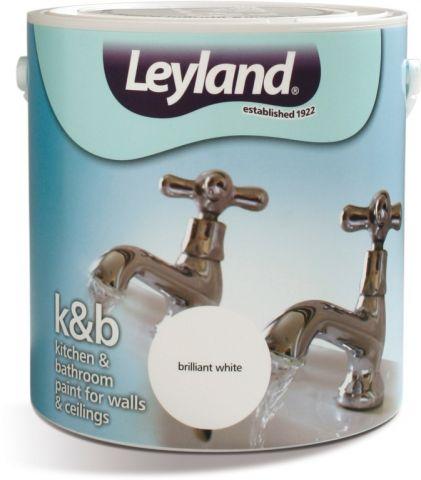 Leyland Kitchen & Bathroom 2.5L Brilliant White
