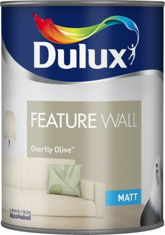 Dulux Feature Wall Matt 1.25L Overtly Olive