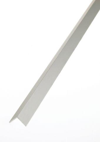 Rothley Angle Equal Sided - Anodised Aluminium - Silver 15Mm X 15Mm X 1Mm X 1M