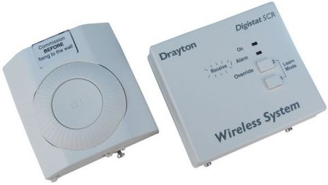 Invensys Drayton Digistat RF601 radio frequency controlled room thermostat
