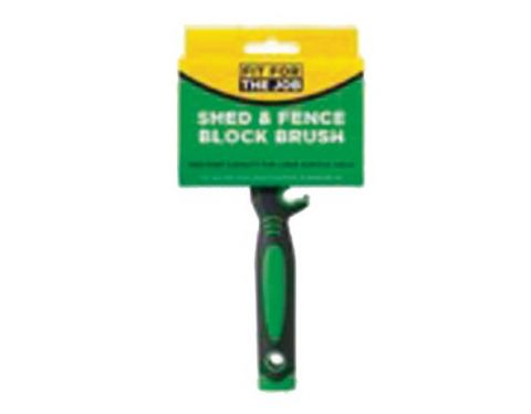 Ffj Shed & Fence Block Brush