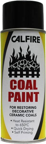 Stove Bright Coal Paint 400Ml Aerosol