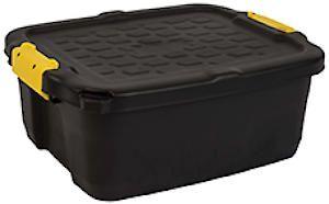 Store Box&Lid Heavy Duty 24L Hw444