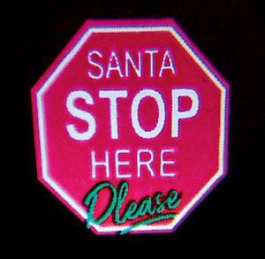 Santa Stop Here Projectr Lv191132