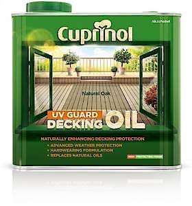 Cuprinol Uv Grd Deck Oil Nat 2.5L