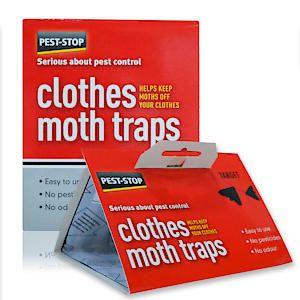 P-S Clothes Moth Trap Pk2 Pscmt*