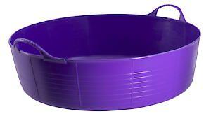 Flks Shallow Tubtrug Purple 35L
