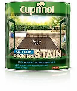 Cuprinol A.Slip Deck Stn Bt Teak 2.5L
