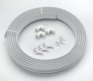 Universal Pvc Track+Fitt Coil 500Cm